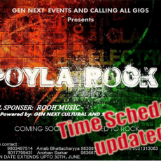 POYLA ROCK 2 - Time schedule updated